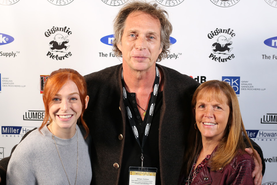 Lindsay Andretta, William Fichtner, and Lauri Andretta