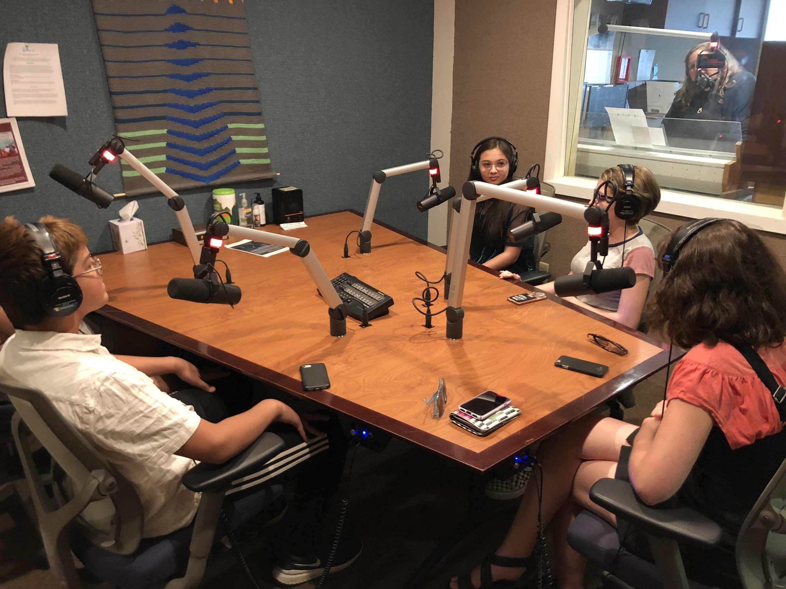 Students talk about their experience with the Youth Film Lab at Radio Kingston