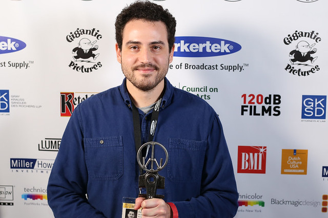 Alexandre Moratto, Ultra Indie Award winner for SOCRATES.