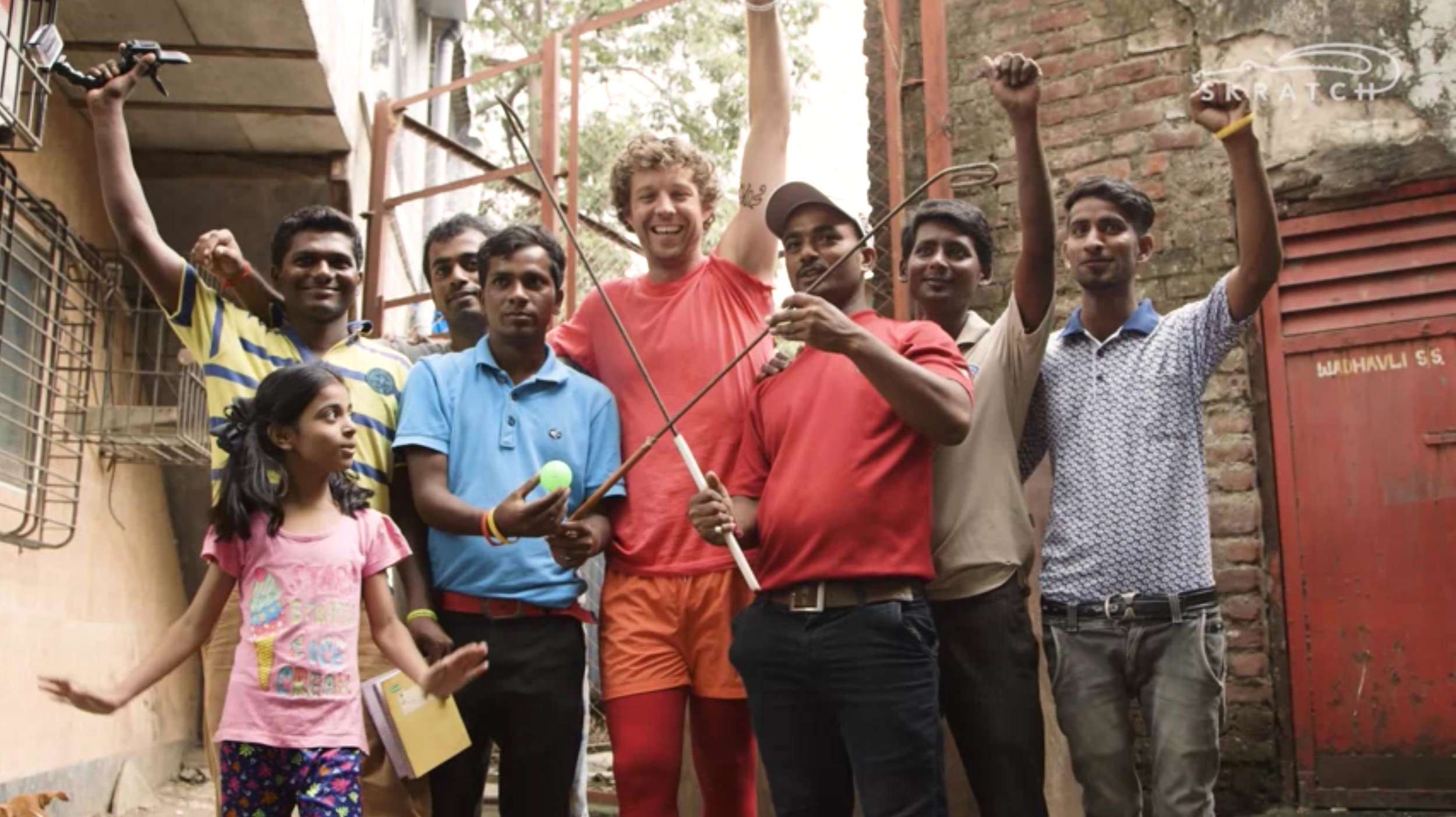 Slum Golf in Mumbai