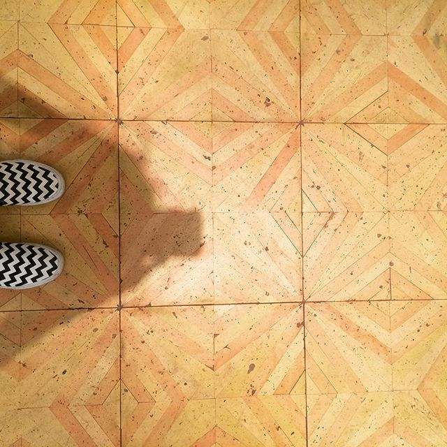 Never too much #patternplay #tile #geometric #modern #interiordesign