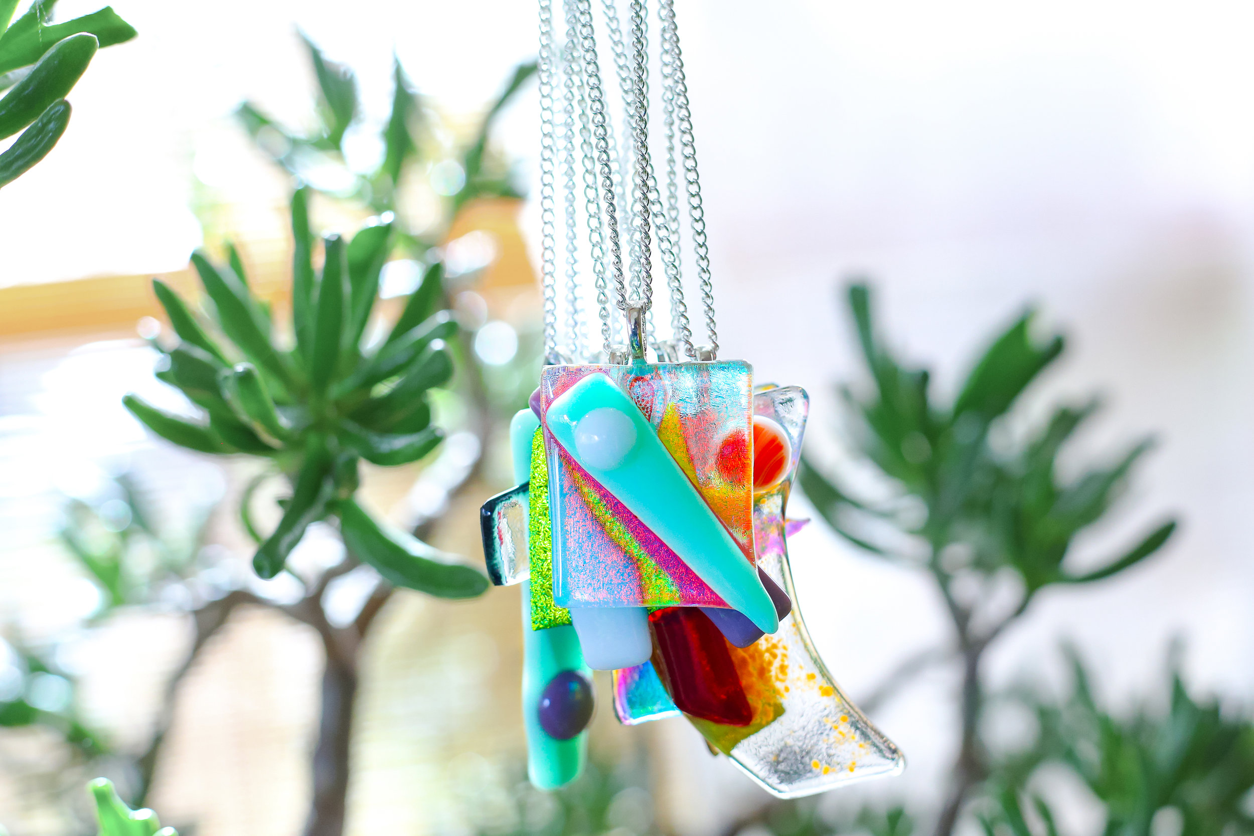 shop glass - the new pendant necklace collection from Ladywolf