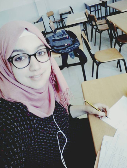 "Nadjia Alahoum Media Manager  - A 2nd year IT Student""I believe in one thing, that everyone has an internal energy within them, when it is well exploited it will have the biggest impact on them and their surroundings. So what remains is to learn how to use this wealth""."