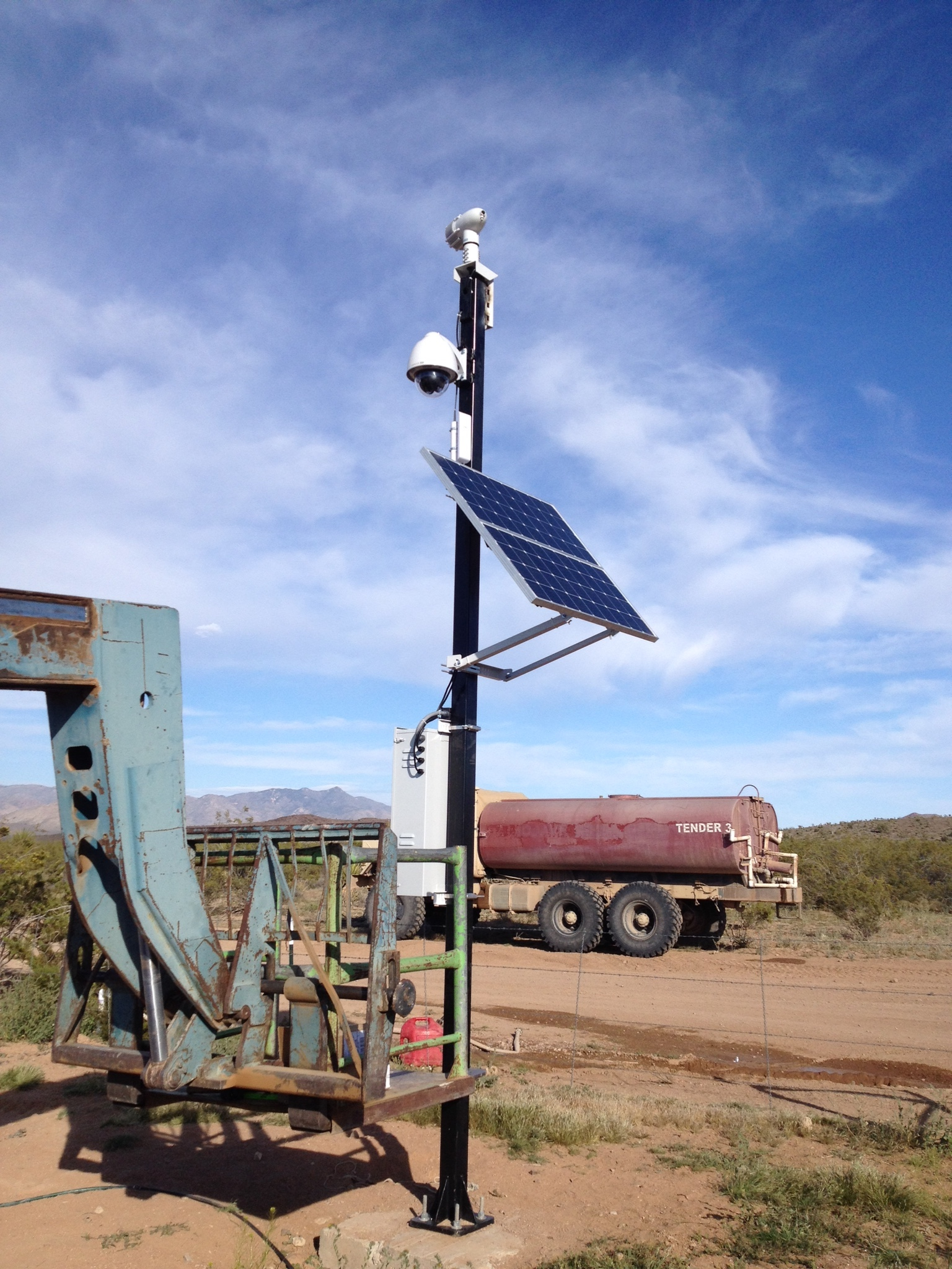 Energy Efficient Camera System Arizona