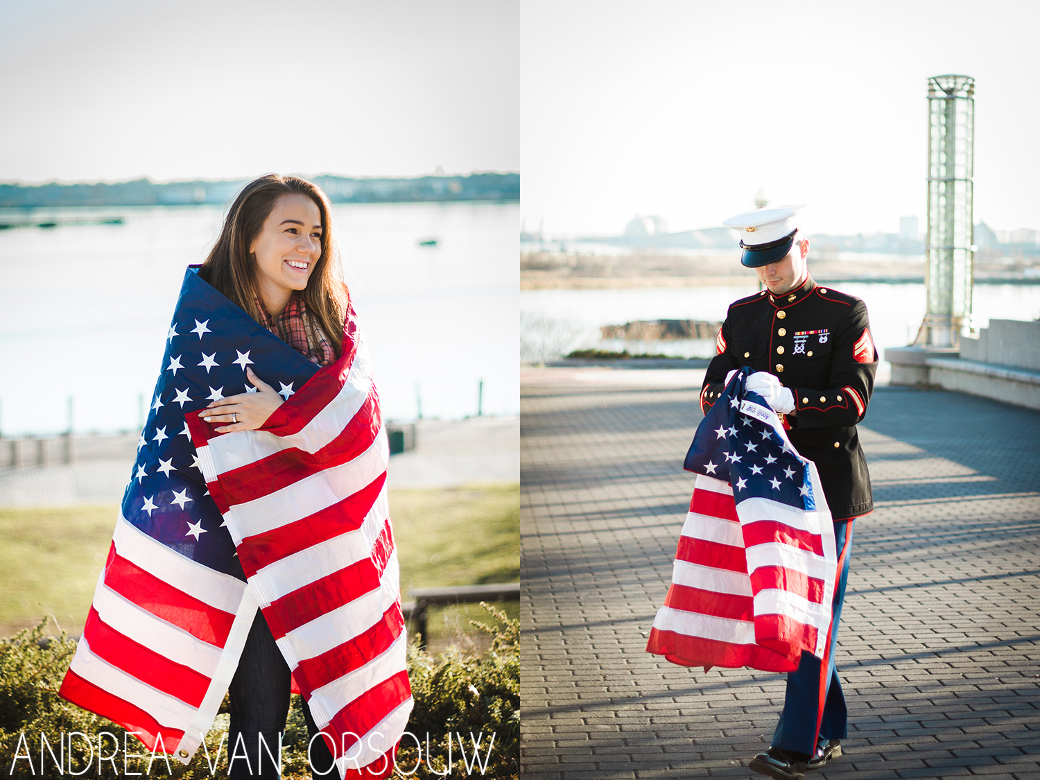 american_flag_engagement_session_marine_connecticut_photographer.jpg