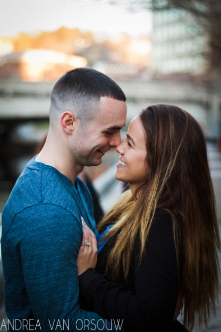 laughing_close_engaged_couple_blue_sunset_city_park_providence.jpg