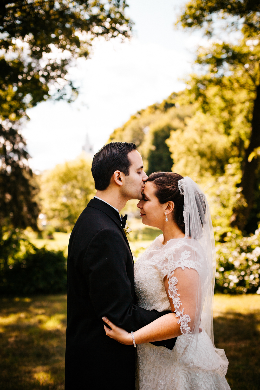 forehead-kiss-bride-groom-pose-wedding-day-outdoors-new-england-boston-wedding-photographer.jpg