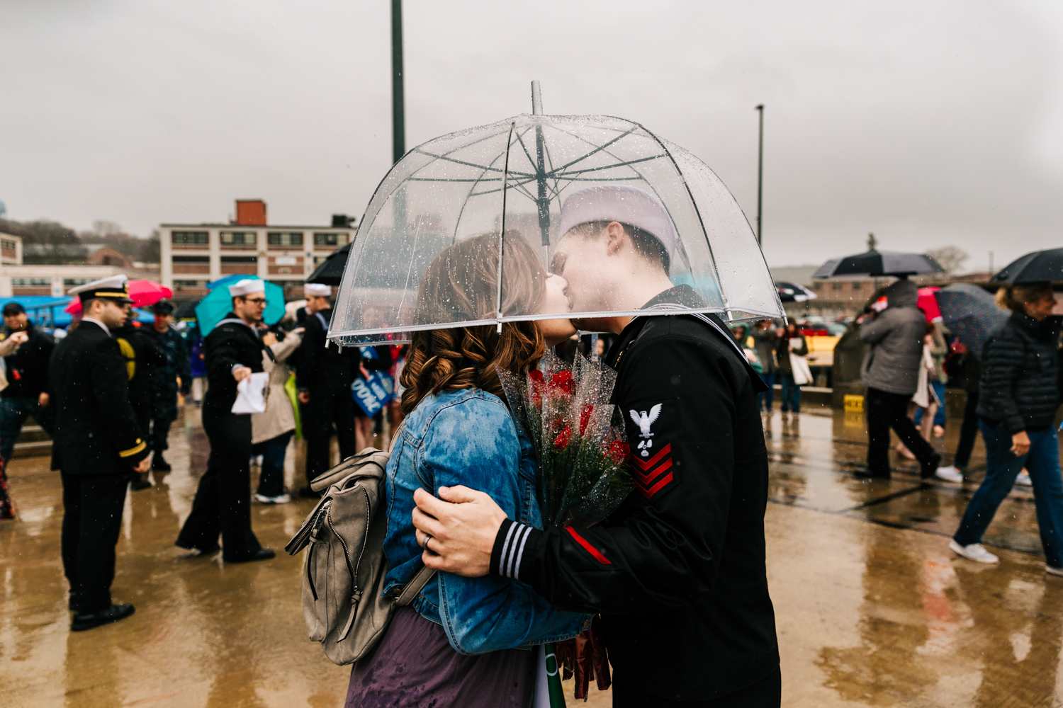 first-kiss-navy-homecoming-groton-connecticut.jpg