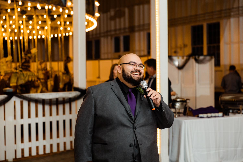 Best man speech at carousel