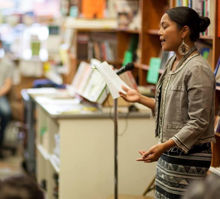 Aimee Suzara   - Filipina-American poet, playwright, performer, and educator.
