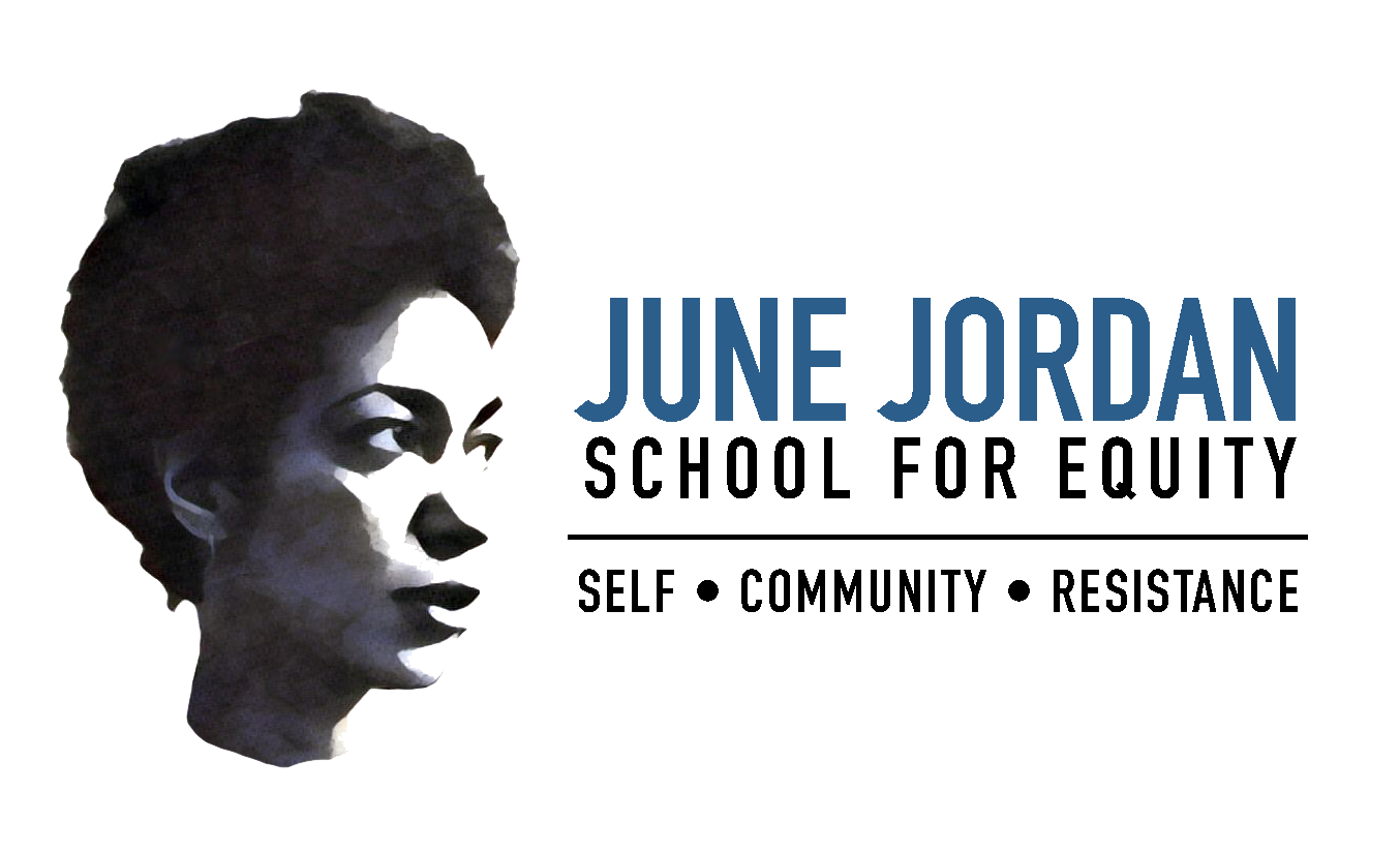June Jordan School For Equity - San Francisco high school for Social Justice. Preparing young people for college and teaching them to be our next leaders for a more equitable world.