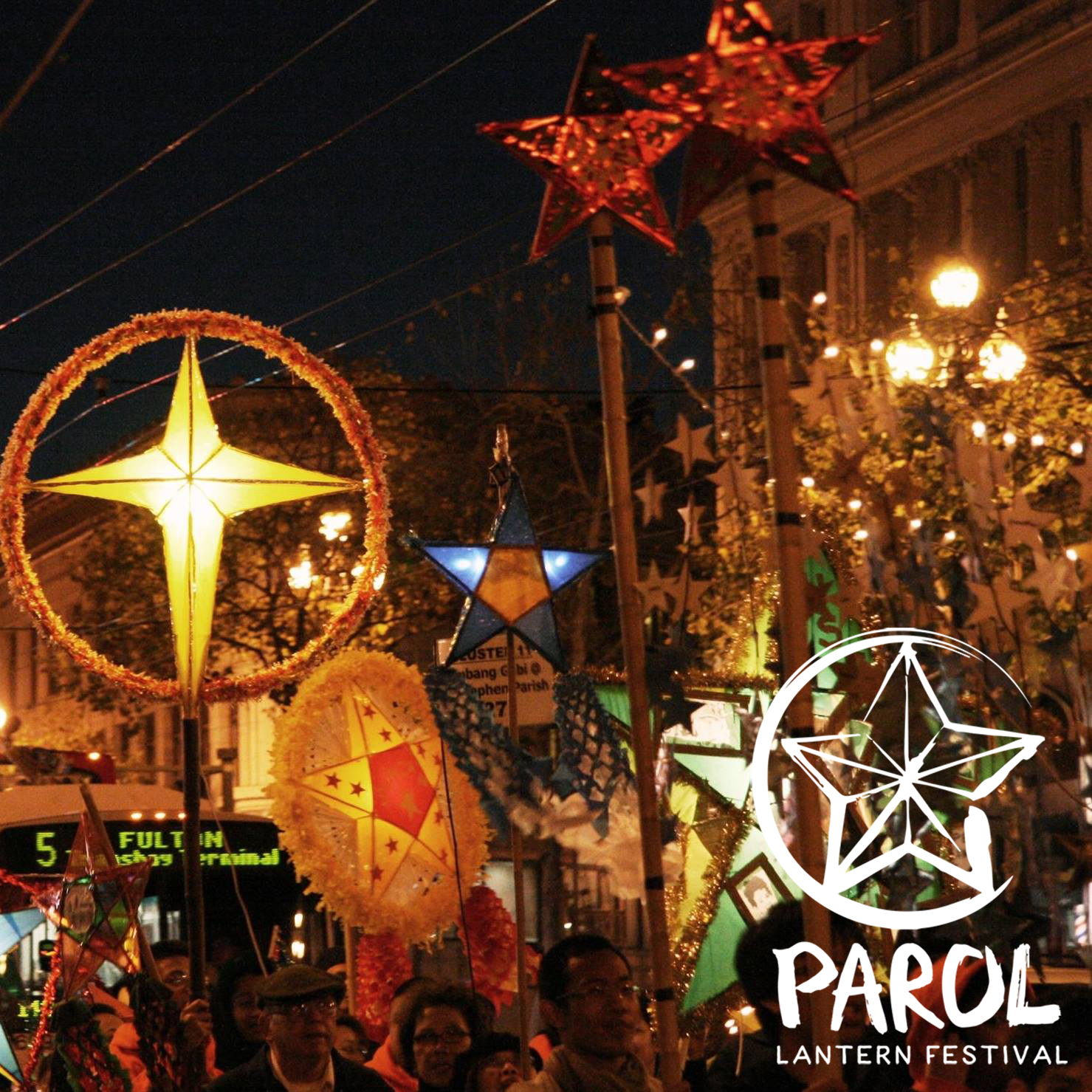 Parol Lantern Festival - Each year, the SoMa community showcases the parol lantern - the quintessential Filipino symbol of hope, blessings, luck, peace, and light during the holiday season - and brightens the Jessie Square, Yerba Buena Lane and Mission Street between 3rd and 4th Streets.