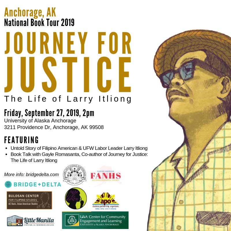 Tour stop in Anchorage, Alaska, 9/27: at University of Alaska Anchorage.