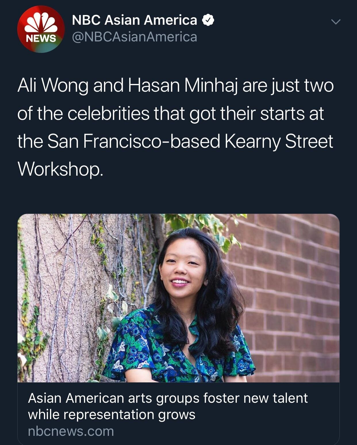 Filmmaker Alle Hsu, who is a featured artist at this year's APAture festival, said she became involved with Asian American arts organizations when she was in college.
