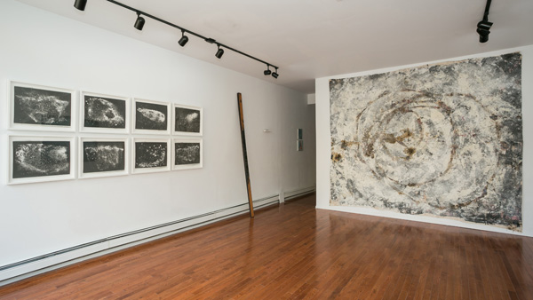 Installation view of Matter To Scale, Peninsula Art Space, June 2014