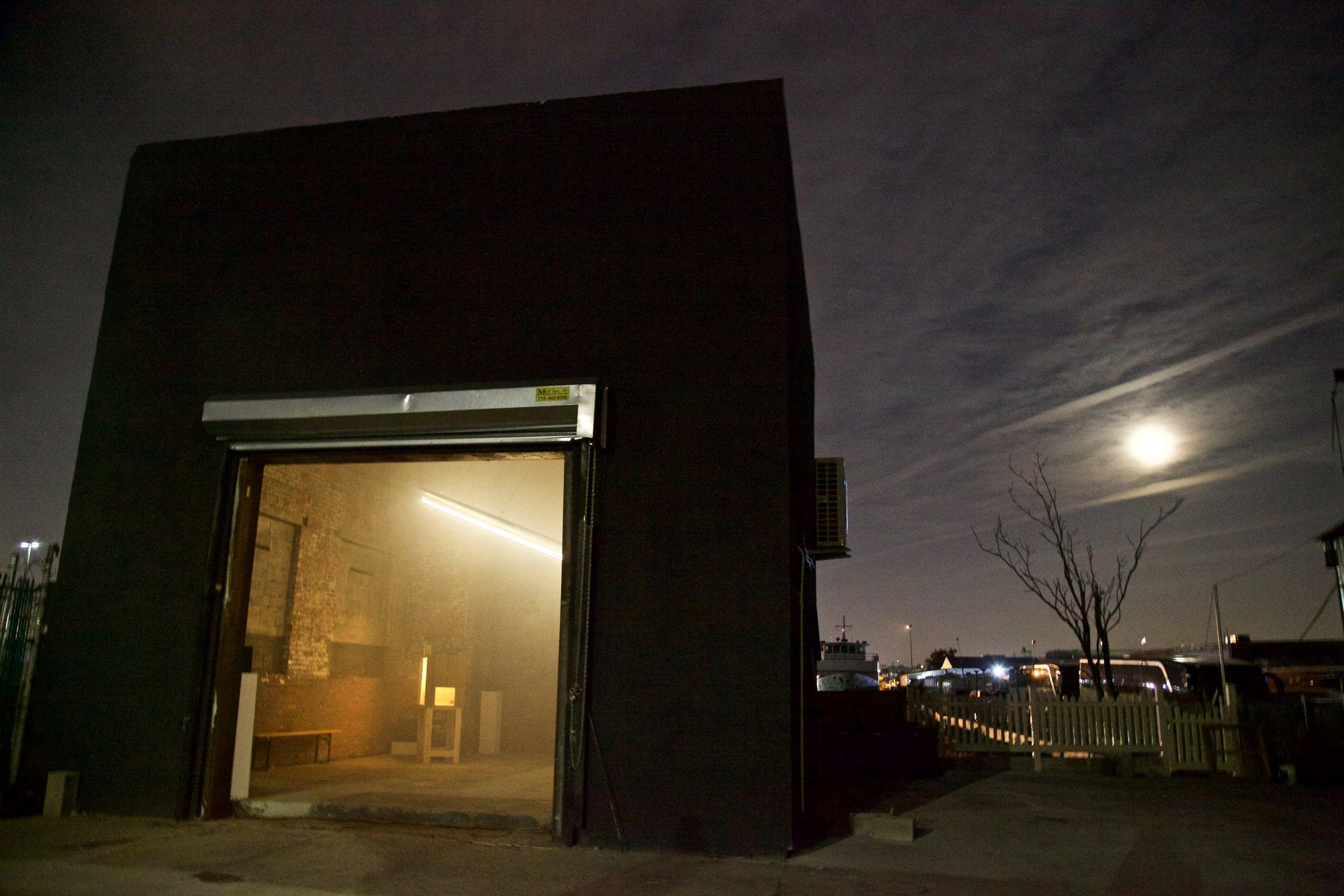 Installation view of Raphaele Shirley - Photo: The Chimney