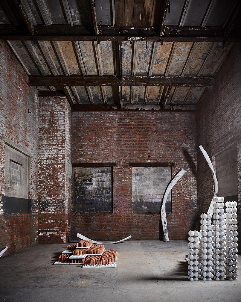 Installation view of Fumihiko Sugino- Photo:The Chimney Archive