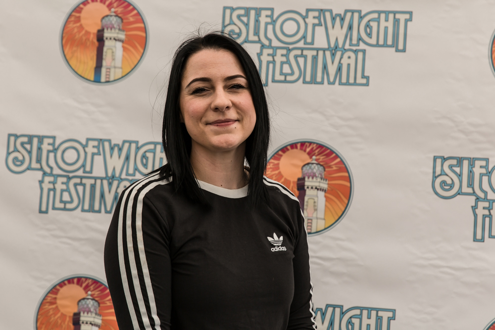 Lucy Spraggan - We caught up with Lucy backstage ahead of her set, we cahtted about the fest and what's been going on in Lucy's world ...