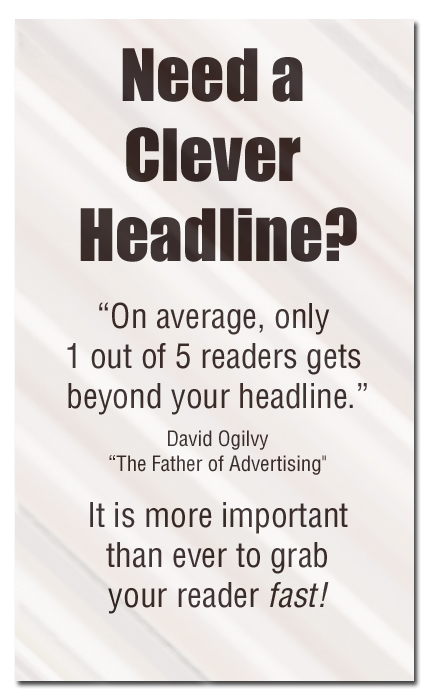 Copywriting Headlines