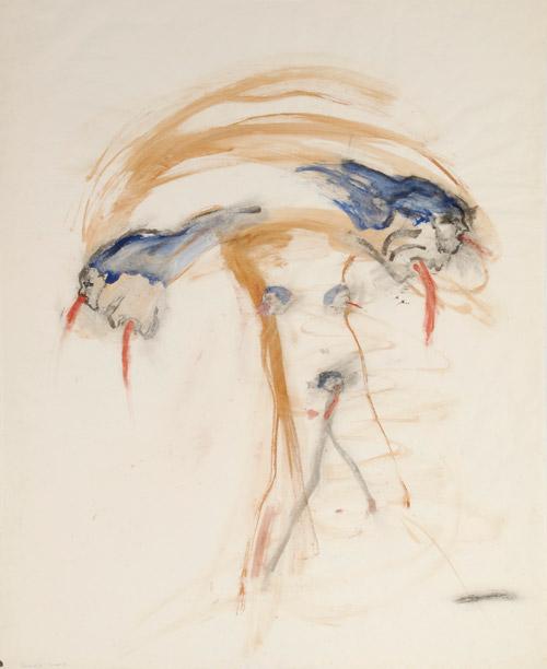 Nancy Spero,  Female Bomb, 1966