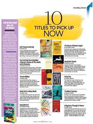 O MAGAZINE - 10 TITLES TO PICK UP NOW