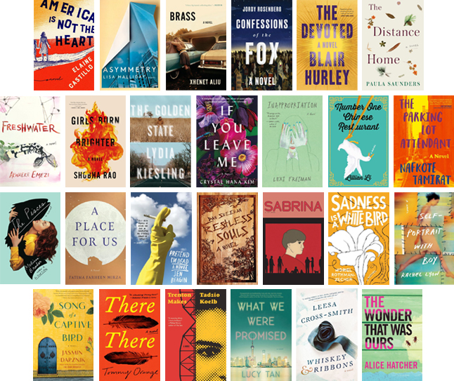 CENTER FOR FICTION - Announcing the Long List for the 2018 Center for Fiction First Novel Prize