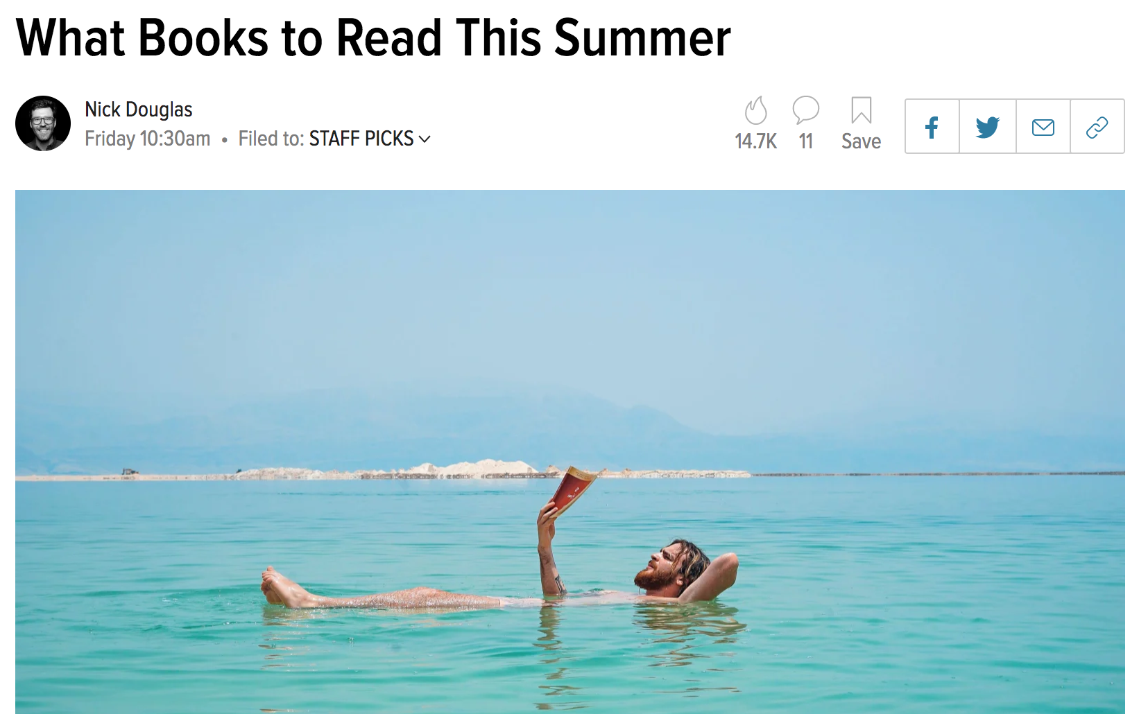 LIFEHACKER - It's not light and fluffy, but Self-Portrait With Boy by Rachel Lyon will keep you turning the pages wherever you are this summer. …As you can see, I'm still thinking about it! Please, now you go think about it.
