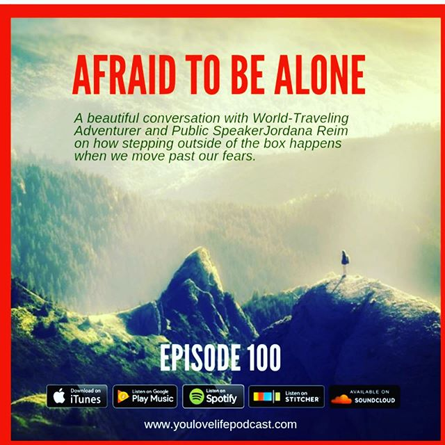 I left a six-figure job. I traveled solo to India, Thailand, Bali, Cambodia and Nepal. I trekked solo in the Himalayas and led groups. My biggest fear? It was loneliness. . Check linktree and my stories to listen to this podcast interview and let me know what you think. . Anyone else got fears? It's real! Let's breathe...