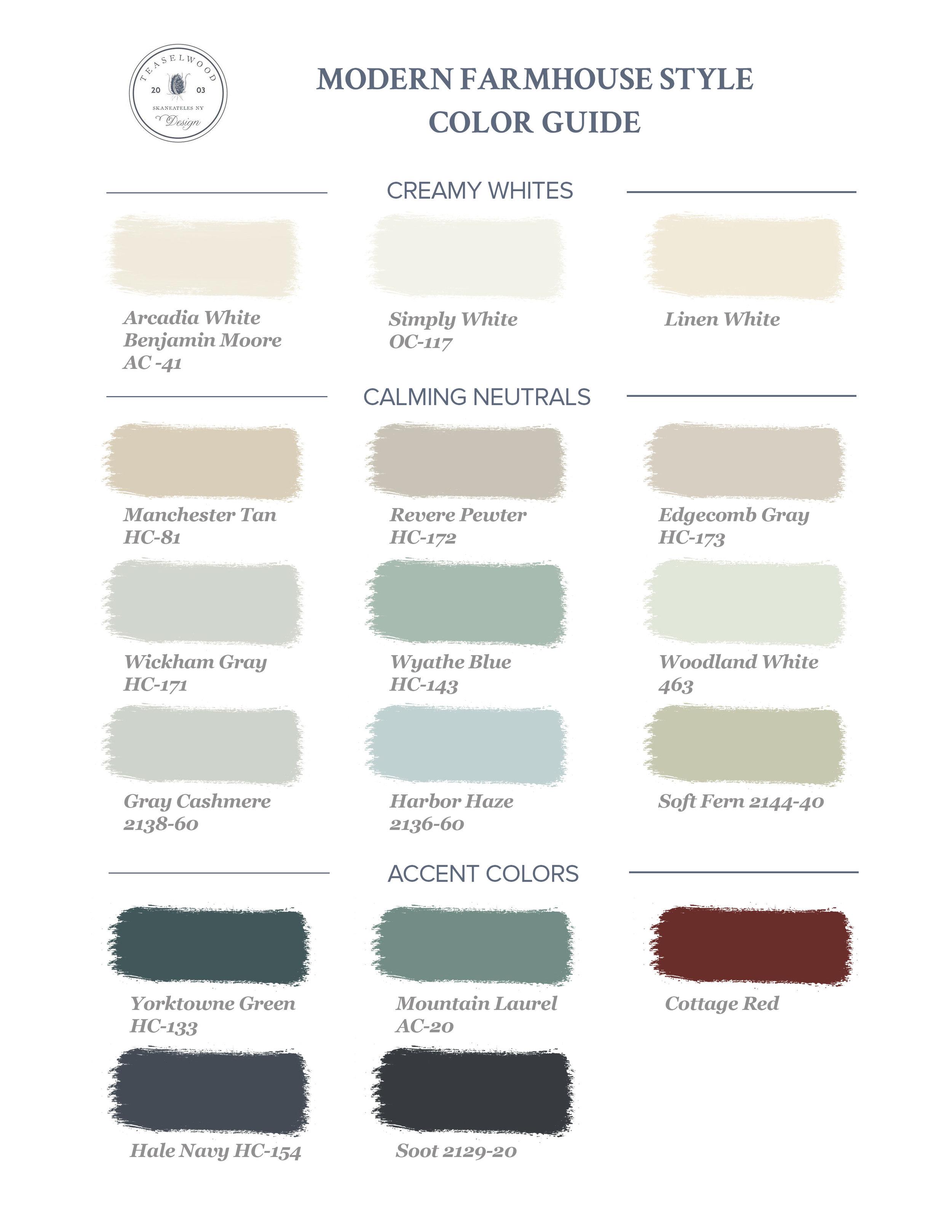 Modern-Farmhouse-Style-Paint-Colors