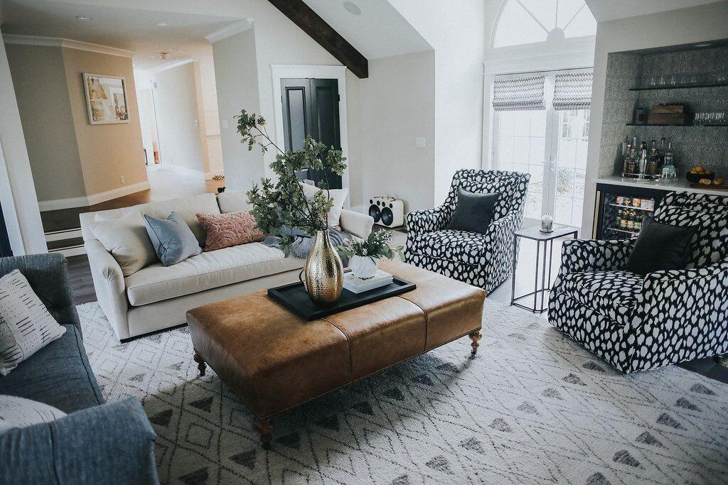 Living Room details modernfarmhouse