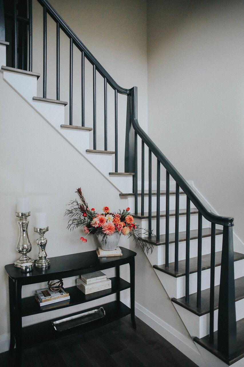 Staircase modern farmhouse