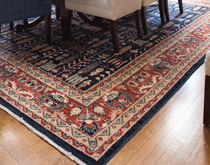 Kid friendly rug