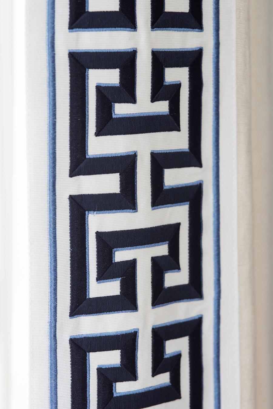 Greek key trim