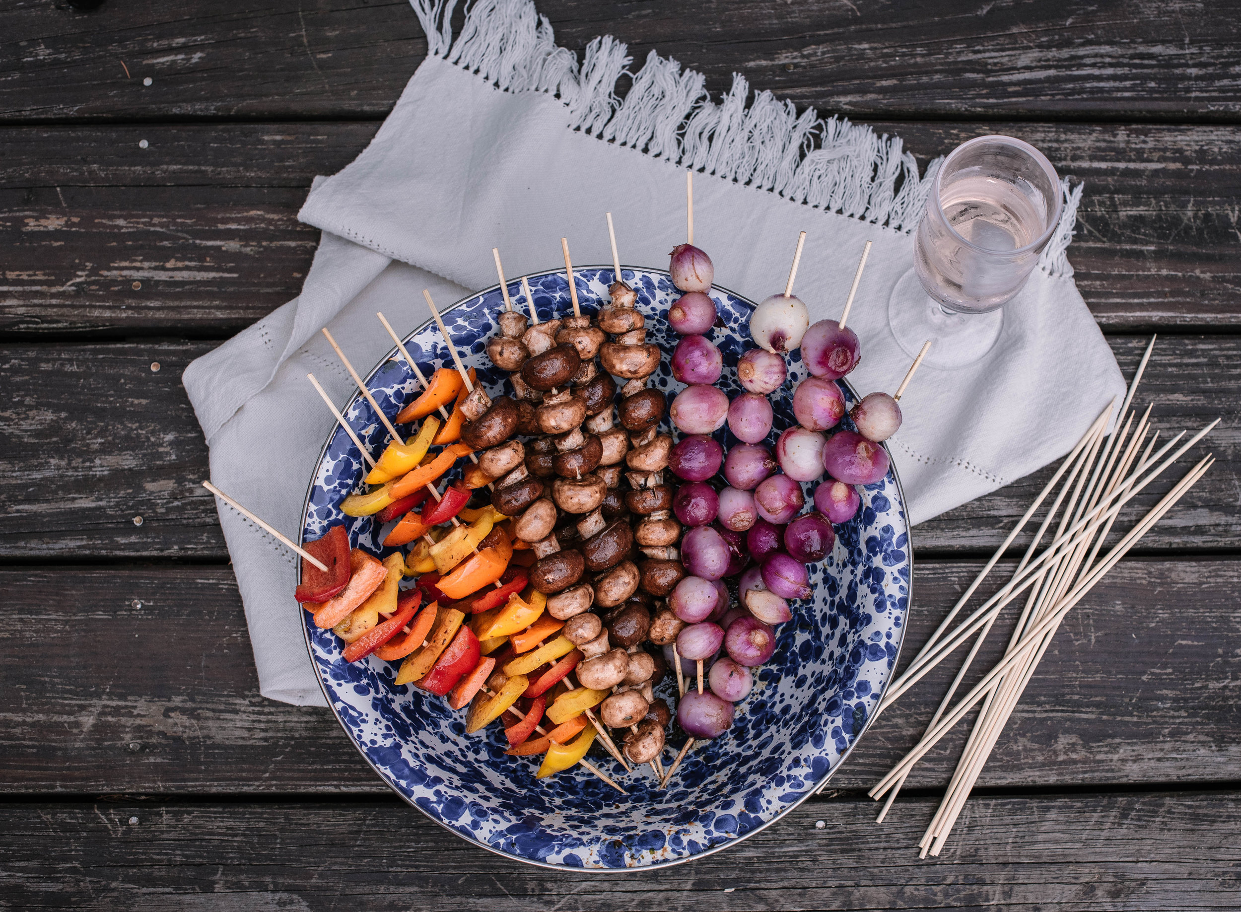 Fourth of July Recipes Chicken Shish Kebab