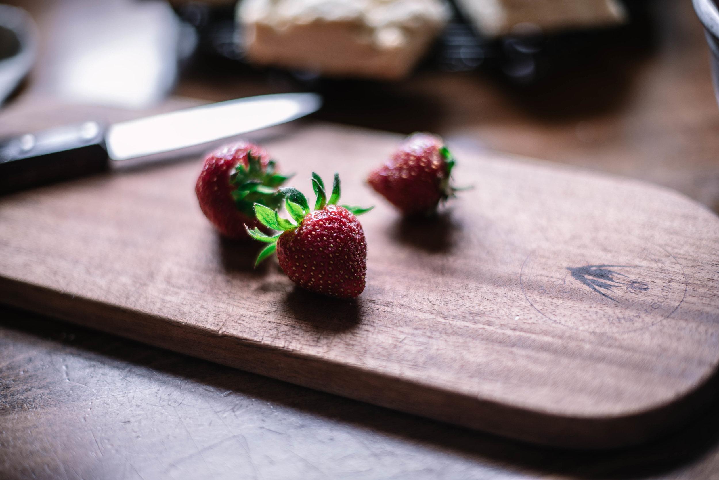 4th of July Recipes Strawberry Shortcake