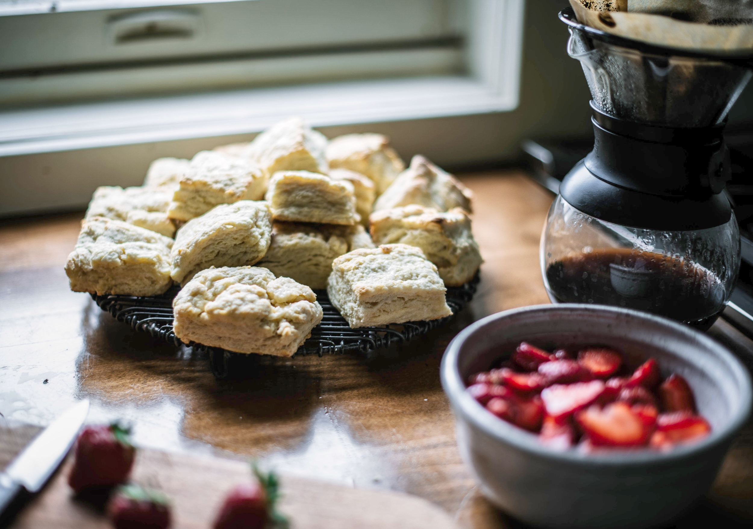 4th of July Dessert Strawberry Shortcake