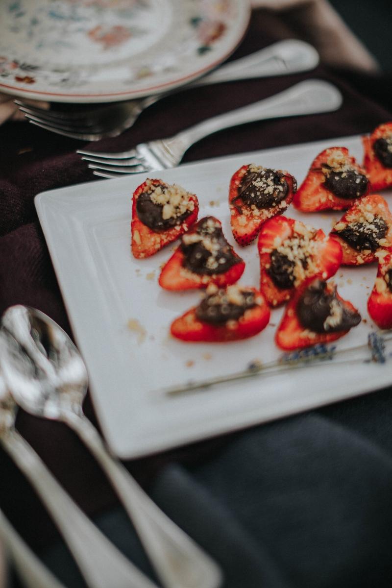 nutella strawberries