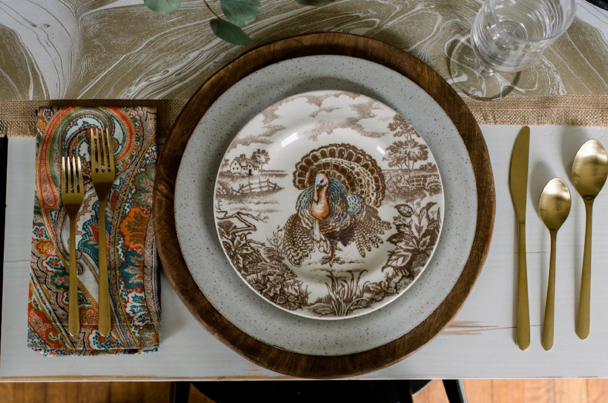 Thanksgivin- placesetting