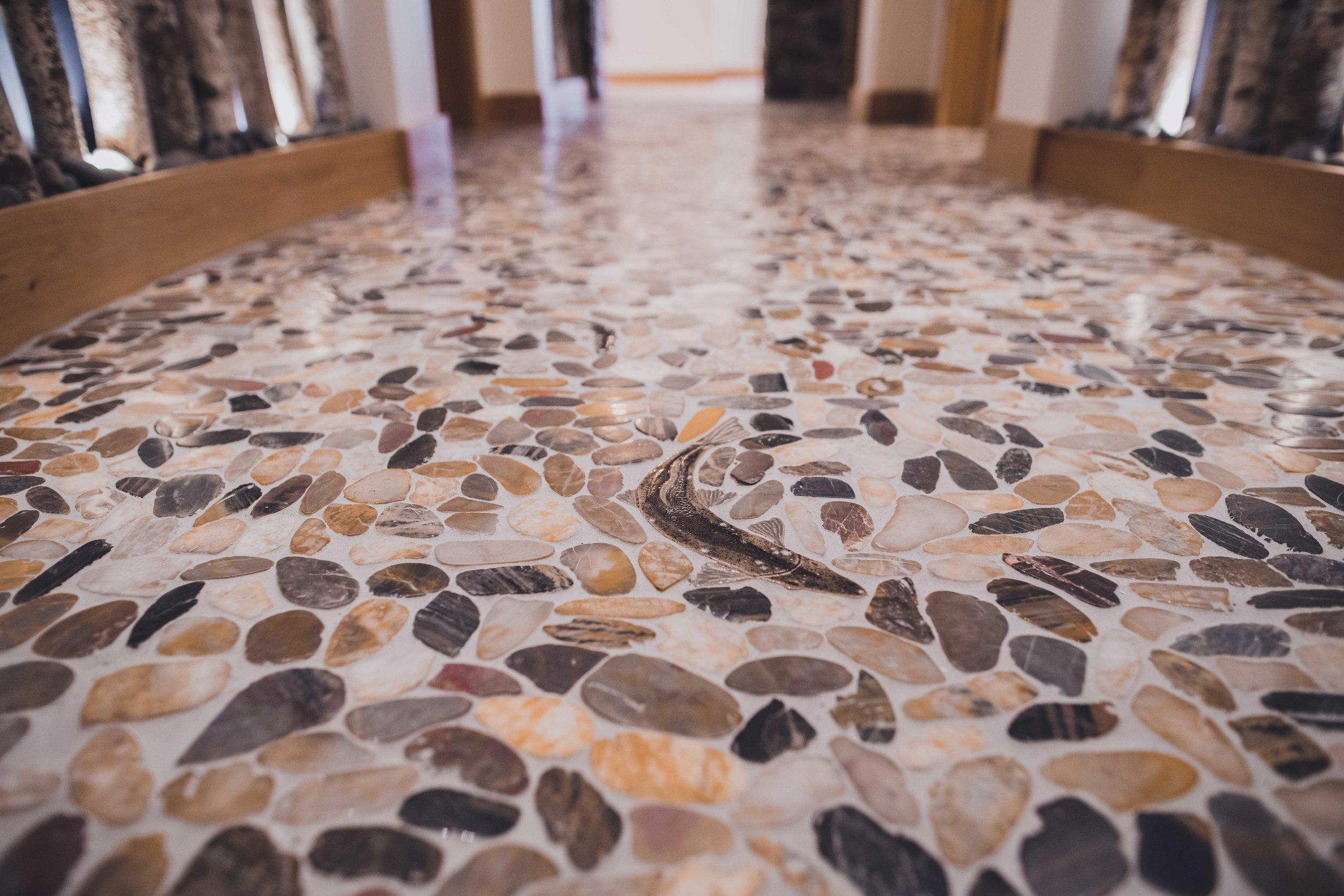 Modern Rustic Hallway Interior Designer Tailwater Lodge