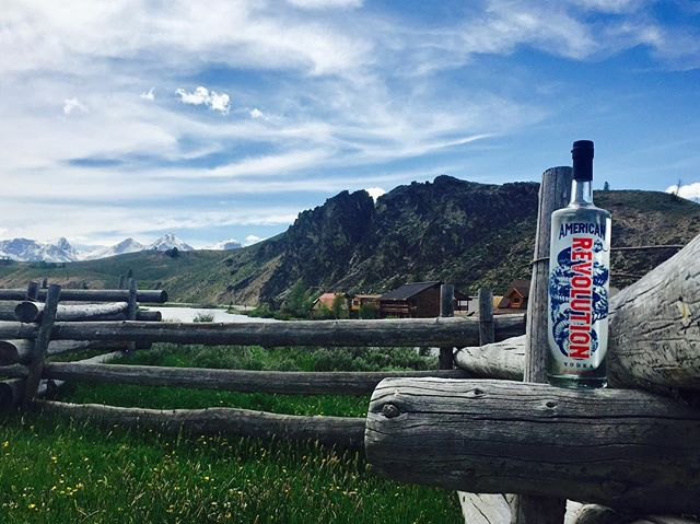 Sunshine, summertime and #RevVodka.⠀ ⠀ Cheers to the weekend ahead! Share your #ARV photos with us!⠀ ⠀ #AmericanRevolution #Vodka #DrinkResponsibly #GetOutside