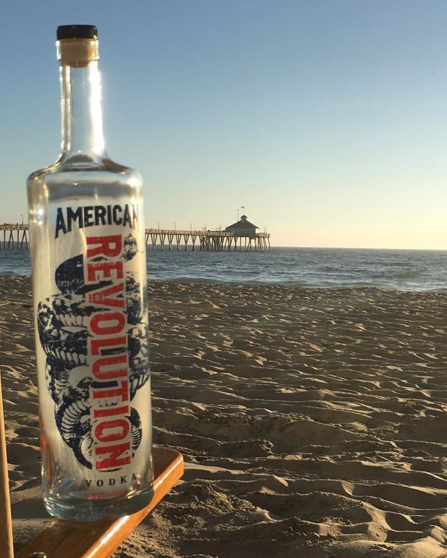Where do you take your #RevVodka? ⠀ ⠀ #ImperialBeach #California #CA #SoCal #GlutenFree #NonGMO #DrinkResponsibly #WeekendViews