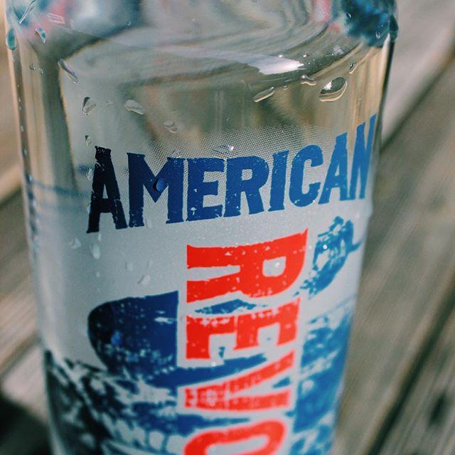 Keeping the American dream alive since 2010 #revvodka #mondayredwhiteandblues #betherevolution