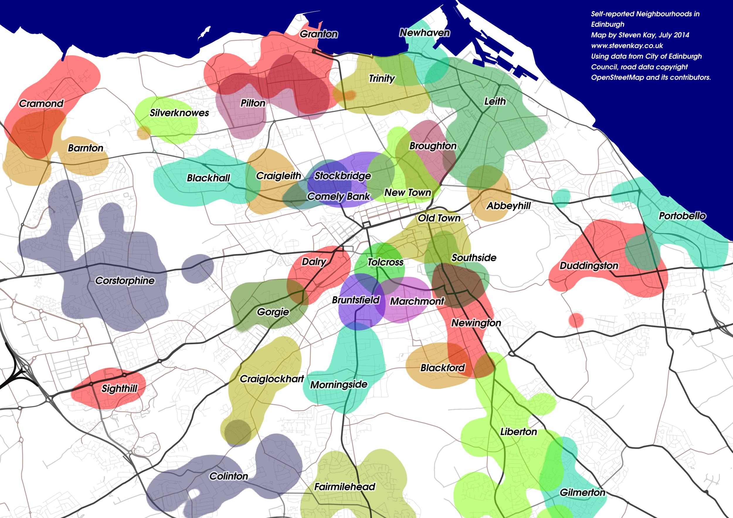 Crowdsourced neighbourhoods
