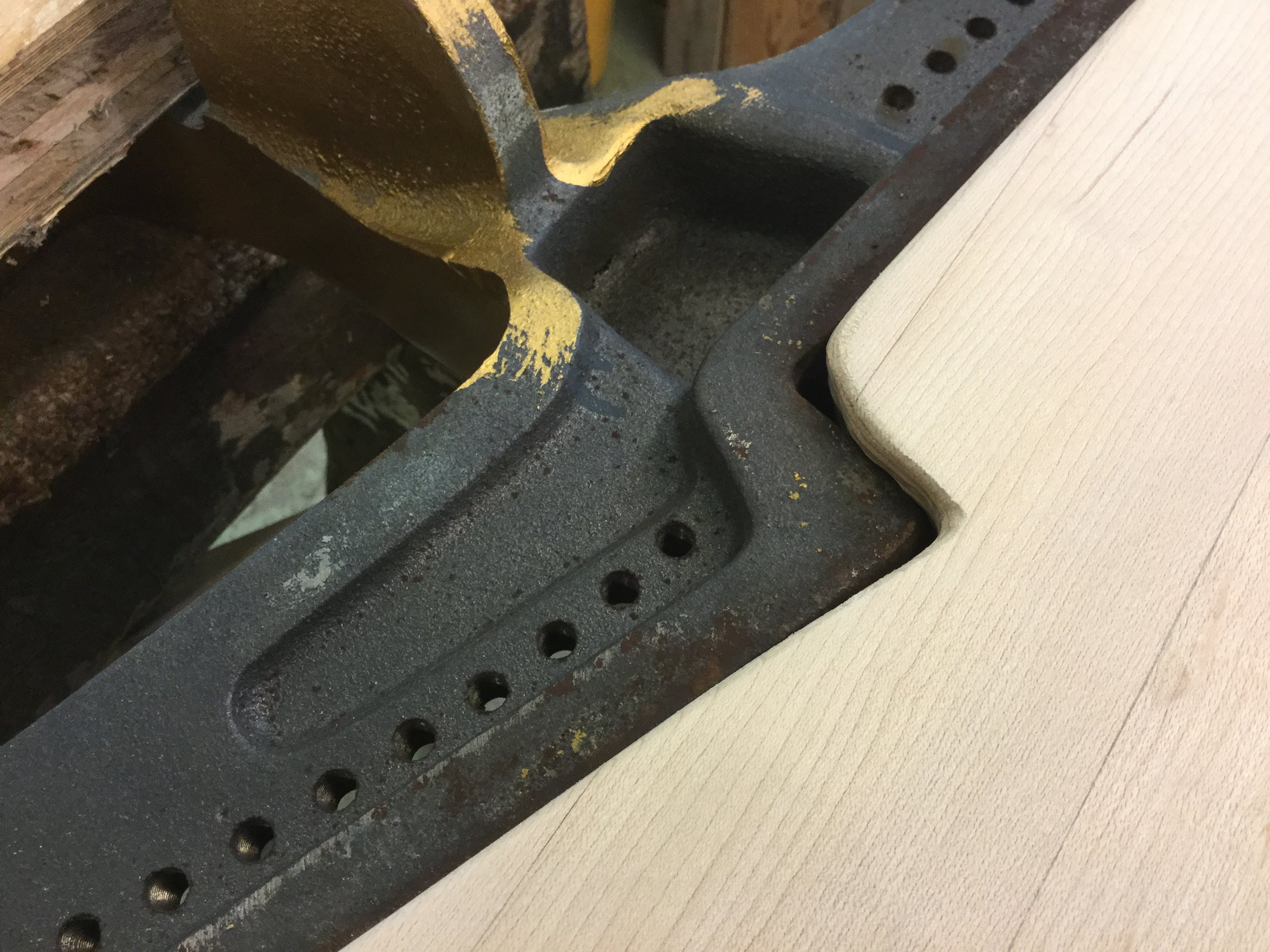 The original was not that great of a fit against the Plate Flange