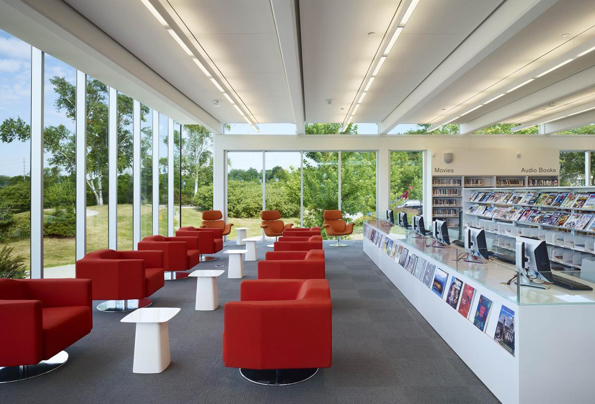 MPL Port Credit Library Interior 02