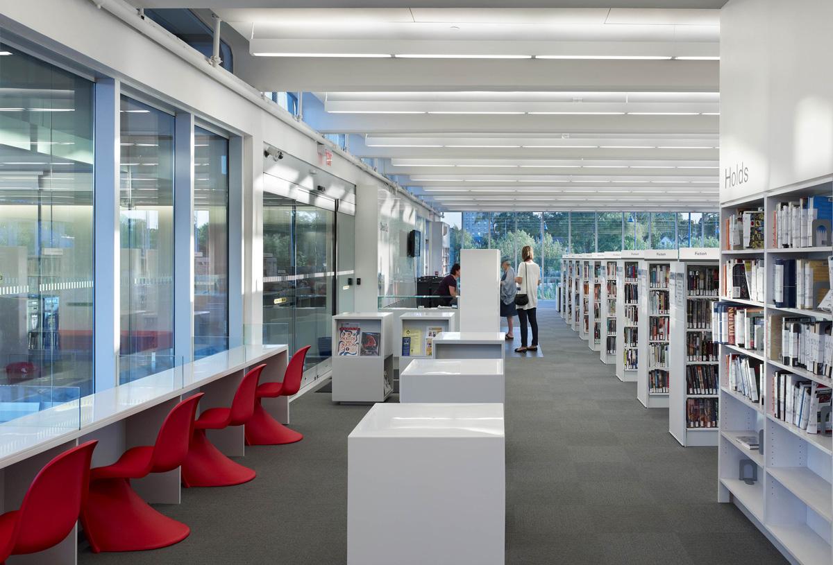 MPL Port Credit Library Interior 03