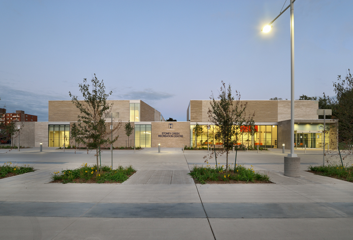 Stoney Creek Recreation Centre Exterior 02