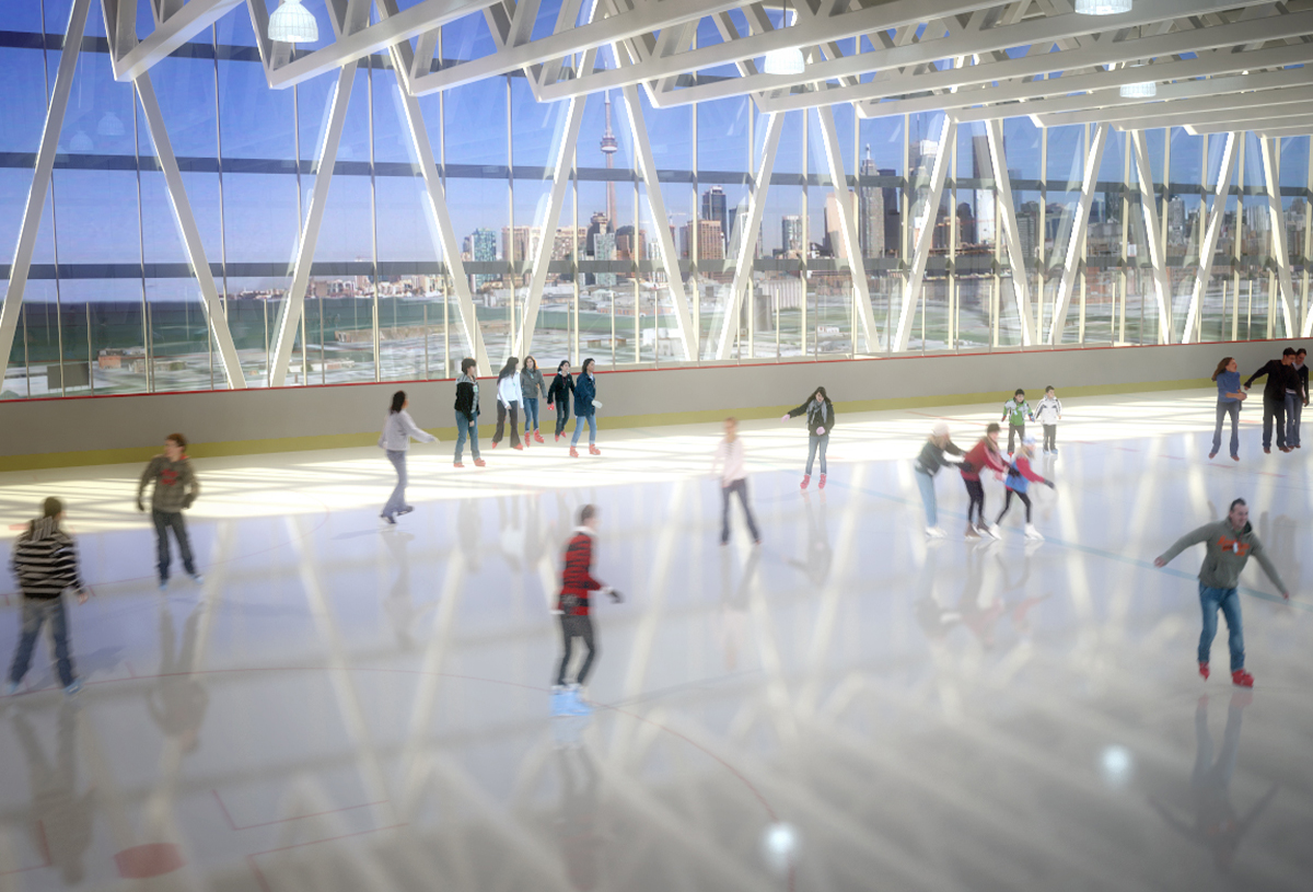Portlands Arena Complex Interior 02