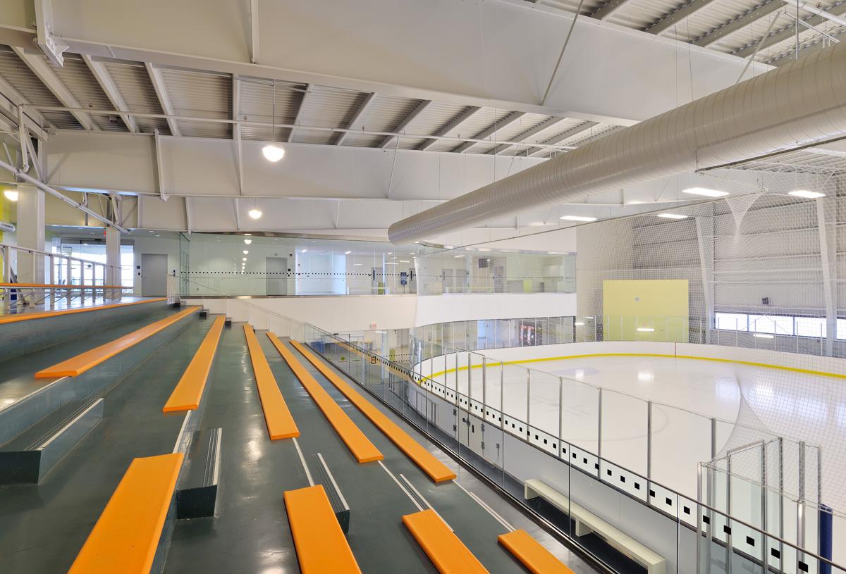 Harry Howel Community Arena Interior 01