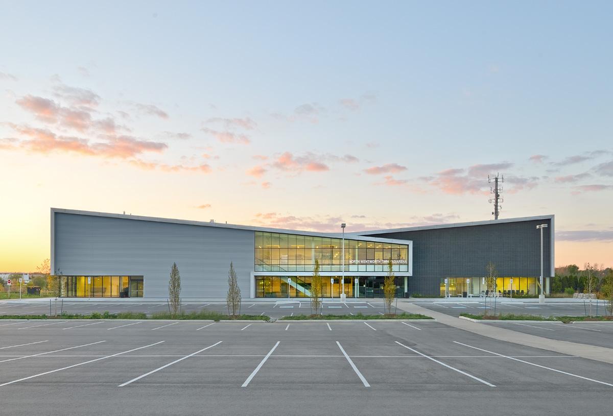 Harry Howel Community Arena Exterior 02